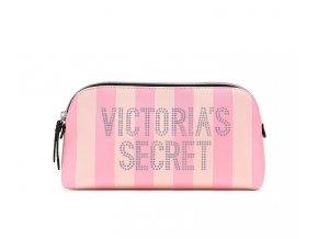 ružová kozmetická taška