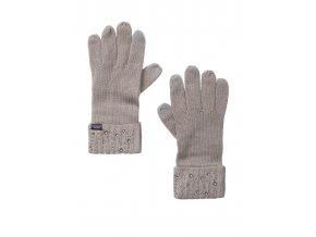 bledoružové zimné rukavice victoria's secret