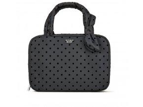 čierna kozmetická taška kufrík victoria's secret