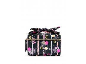 kozmetický kufrík victoria's secret v kvetinovom dizajne
