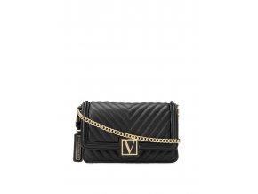 najnovšia kolekcia crossbody kabelka victoria's secret v čiernej farbe
