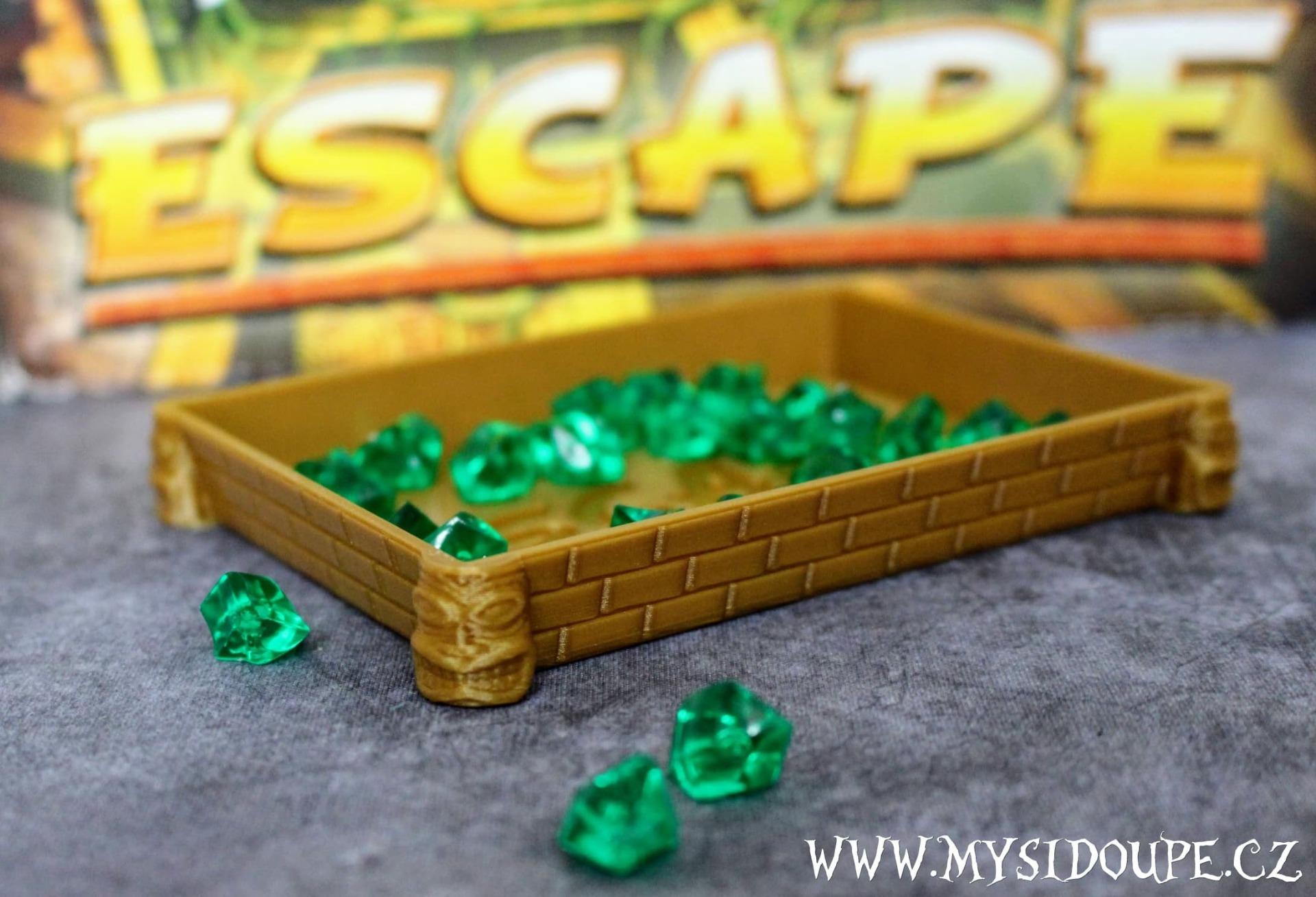 Escape - Miska na diamanty