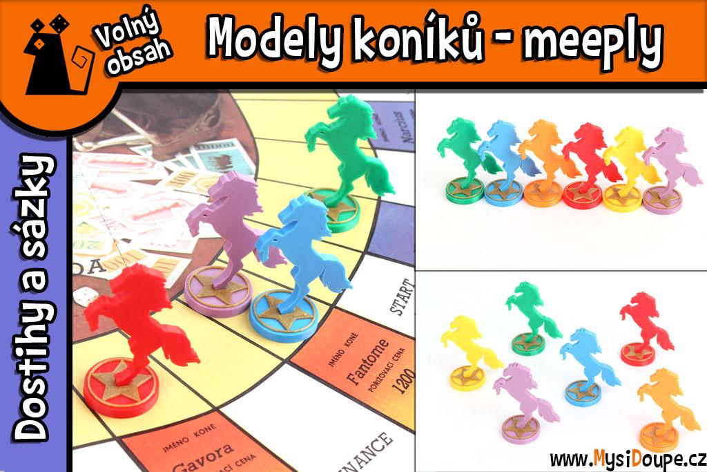 Dostihy a sázky - Modely koníků
