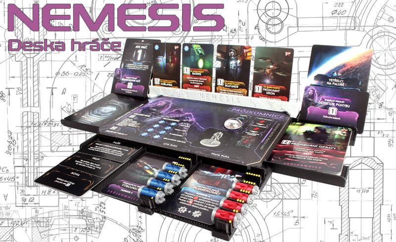 Nemesis deska hráče