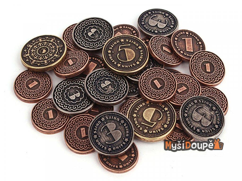 Univerzalni mince kovove