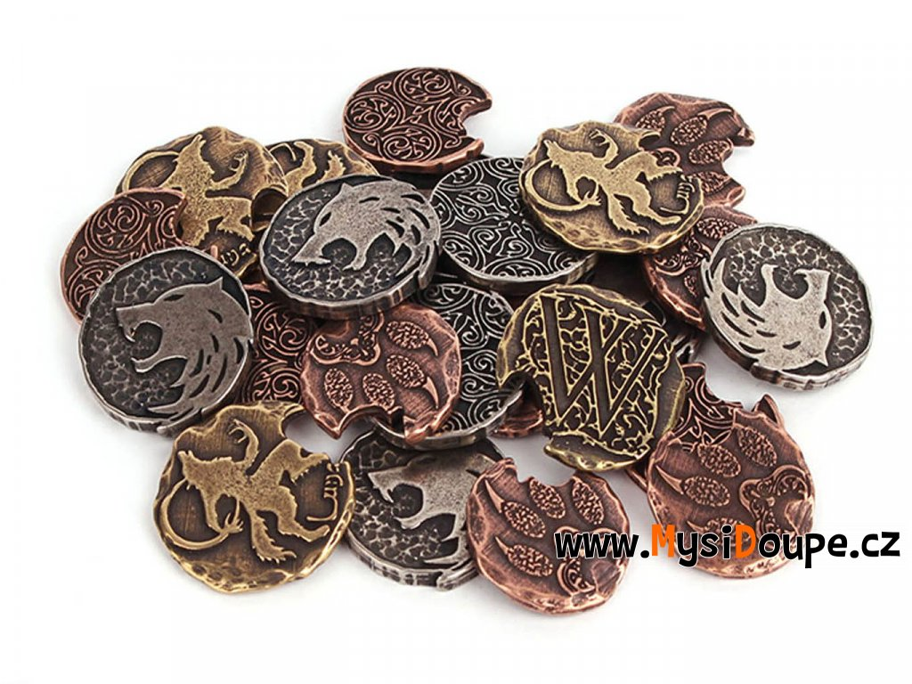 Vlkodlaci mince kovove