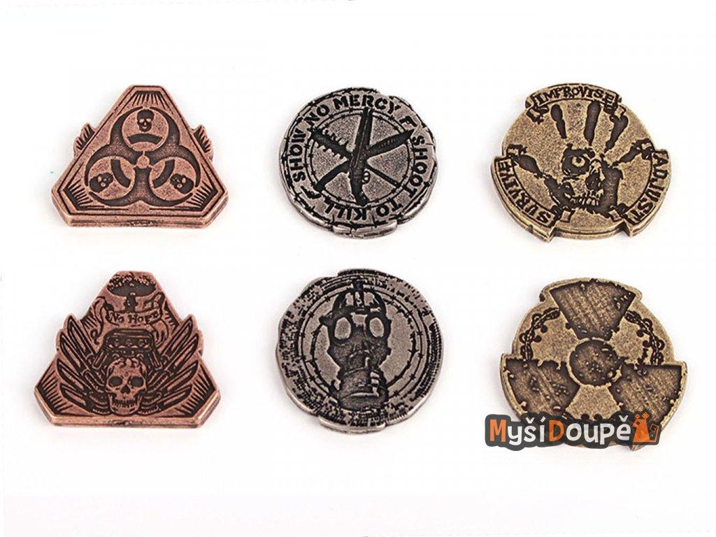 Apokalypticky mince kovove jednotky