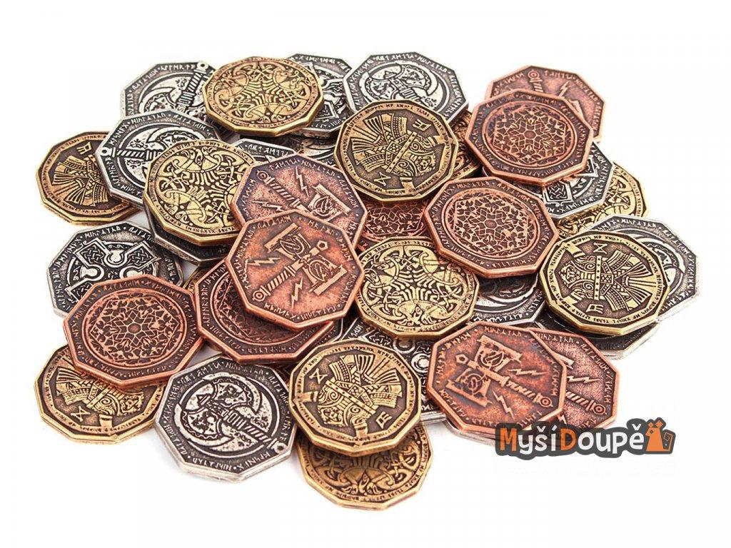 trpaslici herni mince kov mix