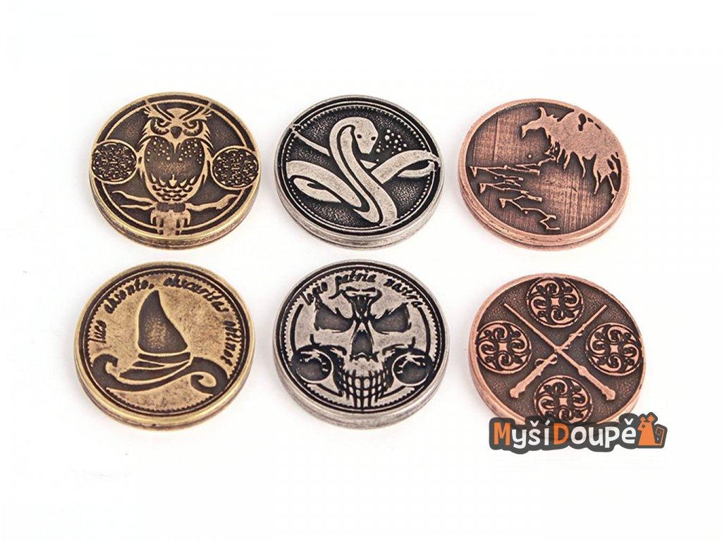 kouzelnicke herni mince kov bronz mix
