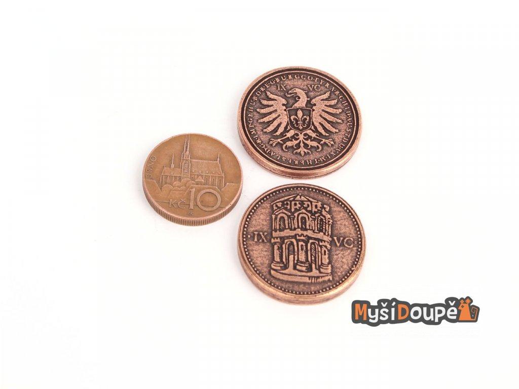 Středověké mince - Capitol  Herní kovové mince