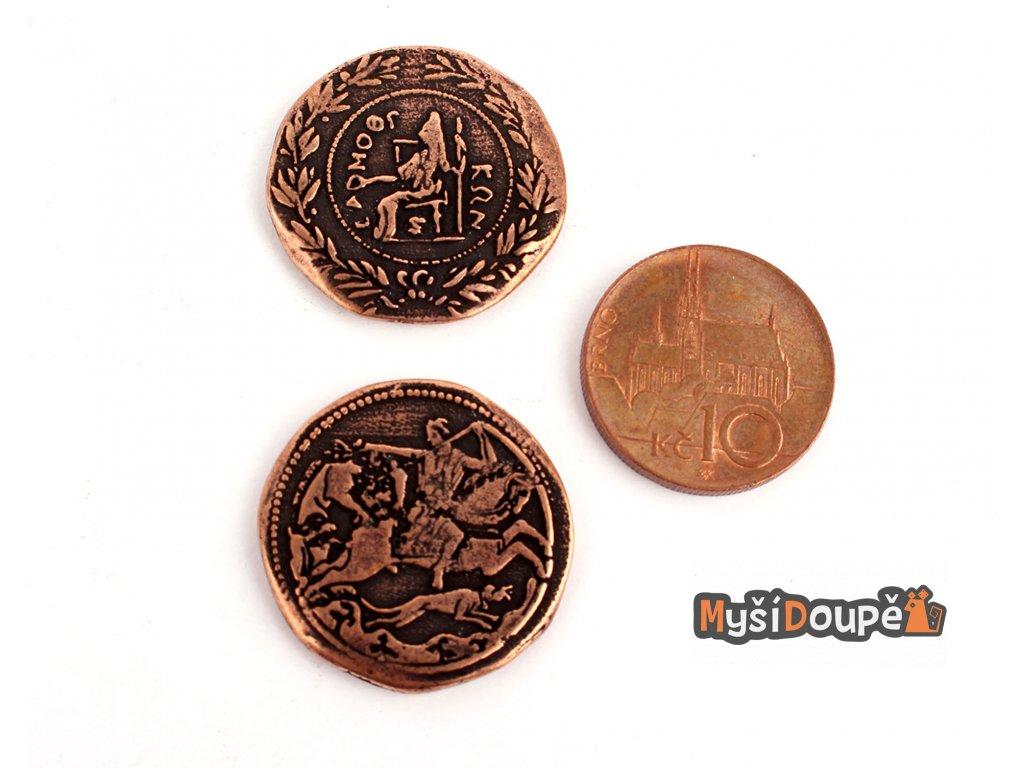 Anticke herni mince kov mix