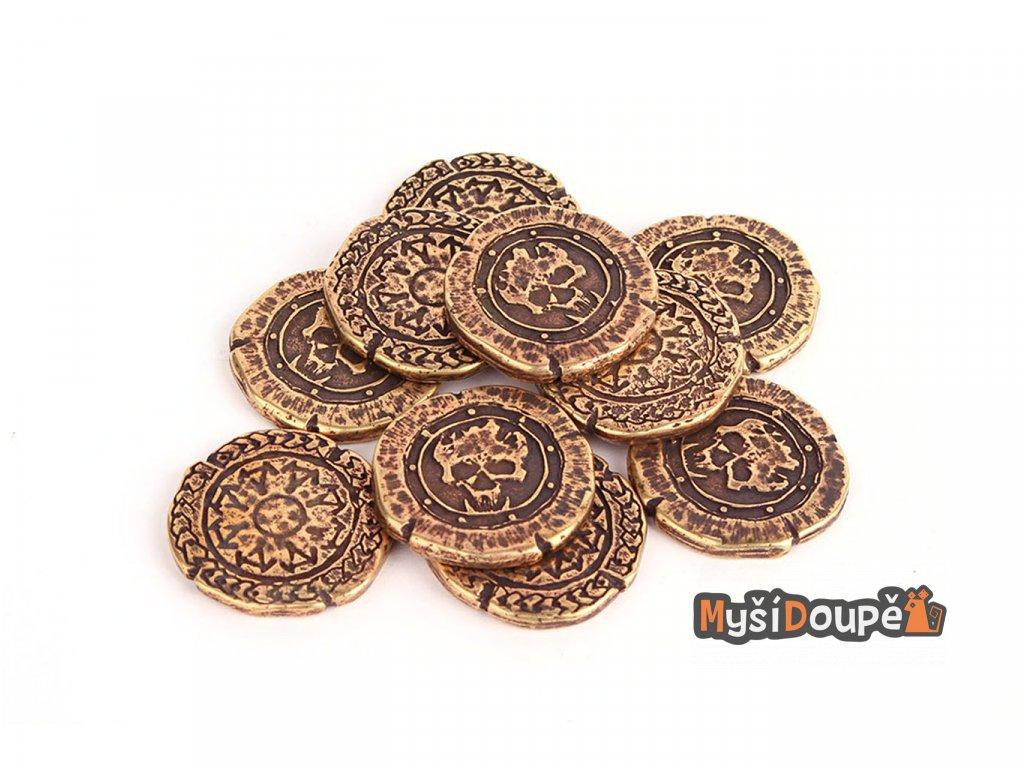 orkove herni mince kov