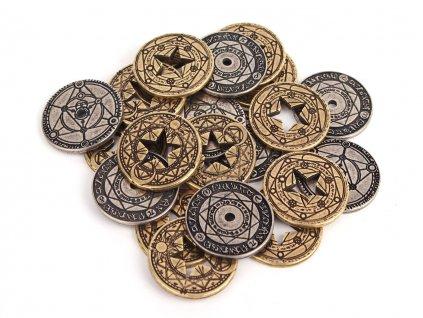 carodejske mince kovove mix