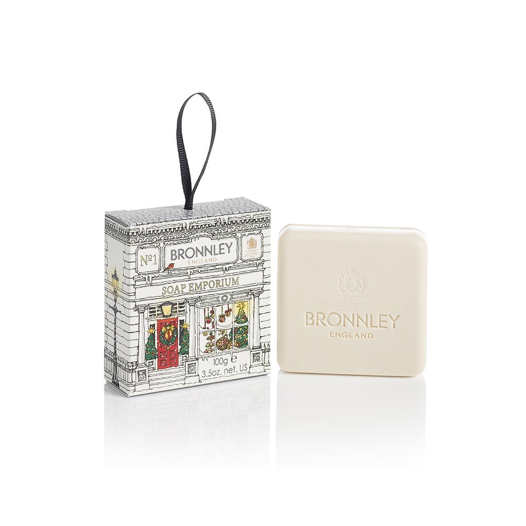 Bronnley - Vánoční mýdlo jablko - skořice
