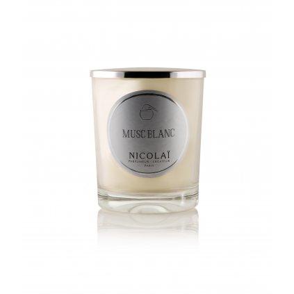 Nicolaï - Musc blanc – interiérová vonná svíčka
