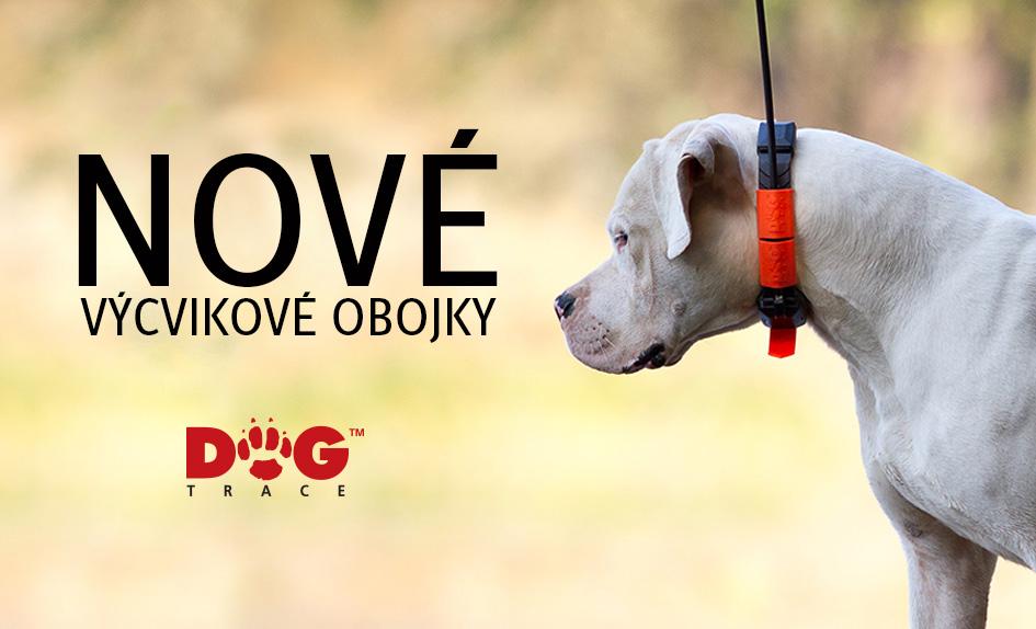 Nové výcvikové obojky Dog Trace