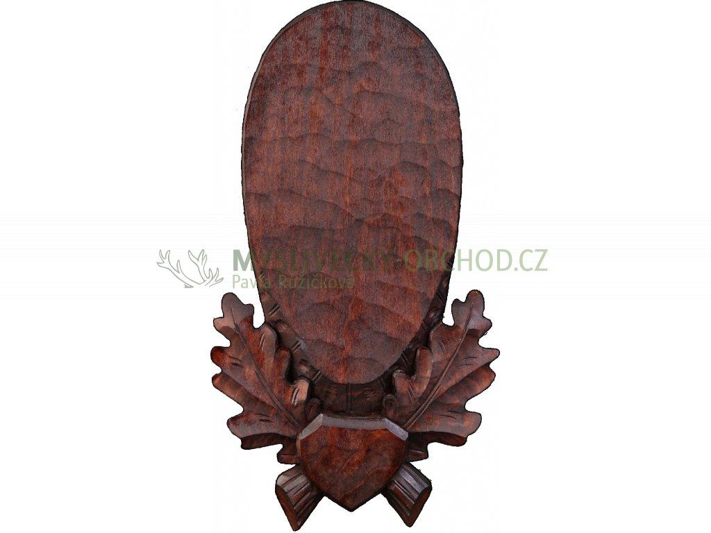 drevo novak podlozka pod trofej rezbovana srnec selma c 109