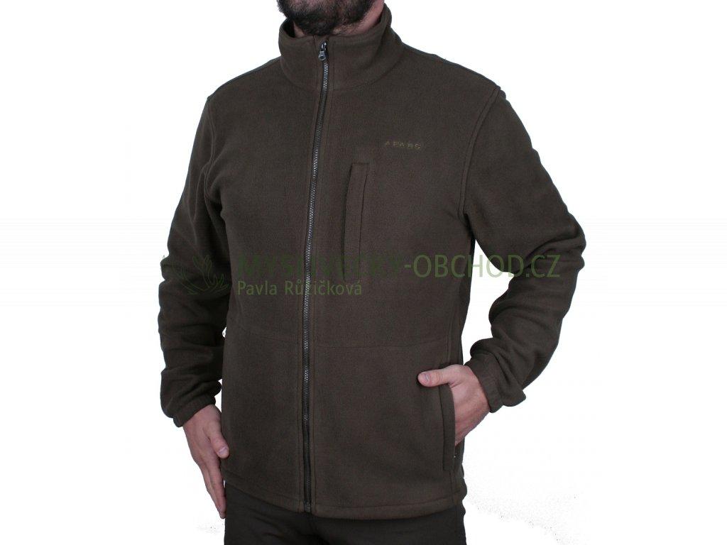 afars fleece basic lovecka bunda 01