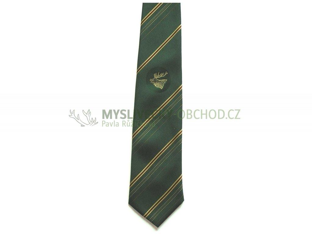 hedva pesh 09 jelen myslivecka kravata 01