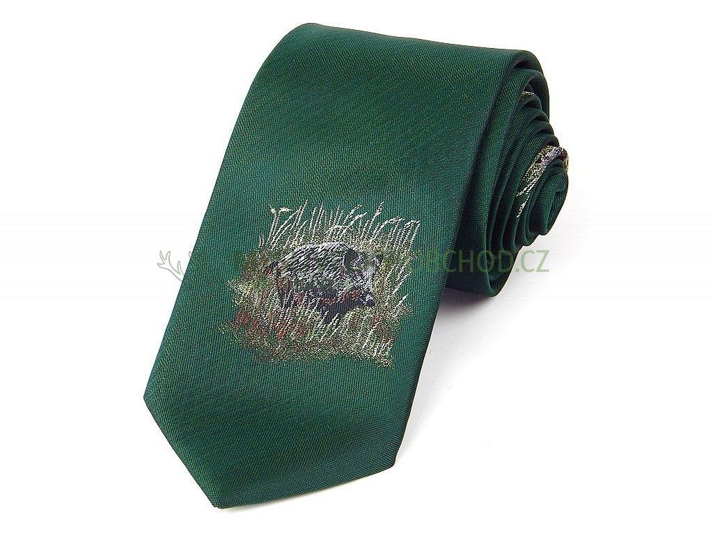 hedba pesh lovec cerna zver myslivecka kravata 01