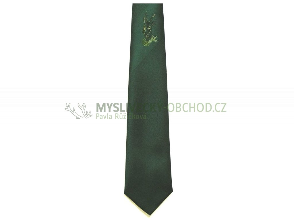 hedva pesh 41 srnec s vetvickou myslivecka kravata 01