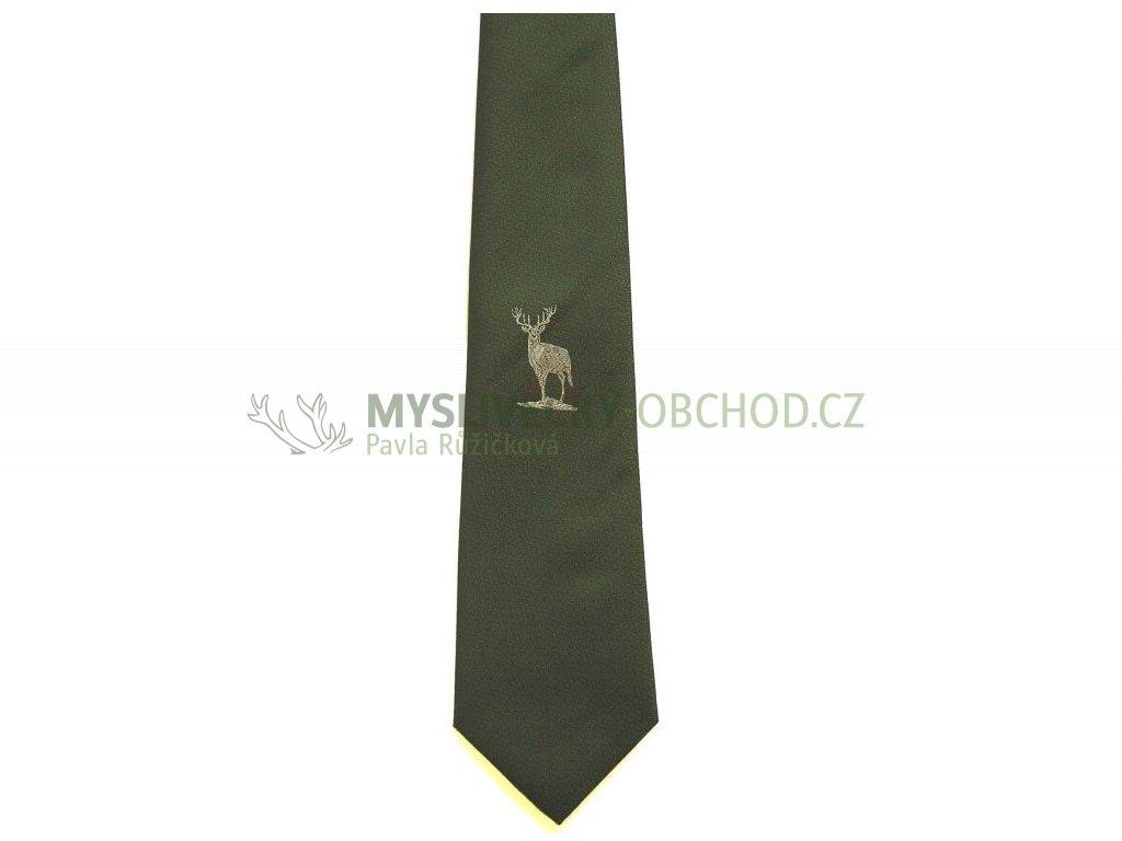 hedva pesh 17 jelen myslivecka kravata 01