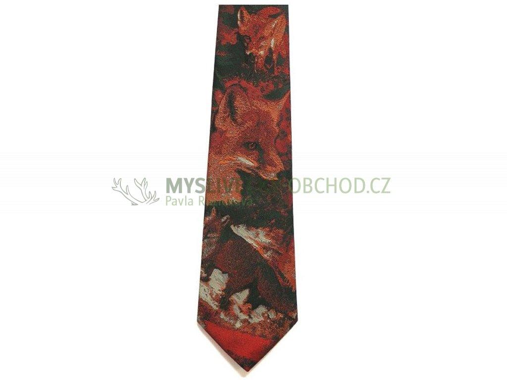 hedva pesh 31 liska myslivecka kravata 01