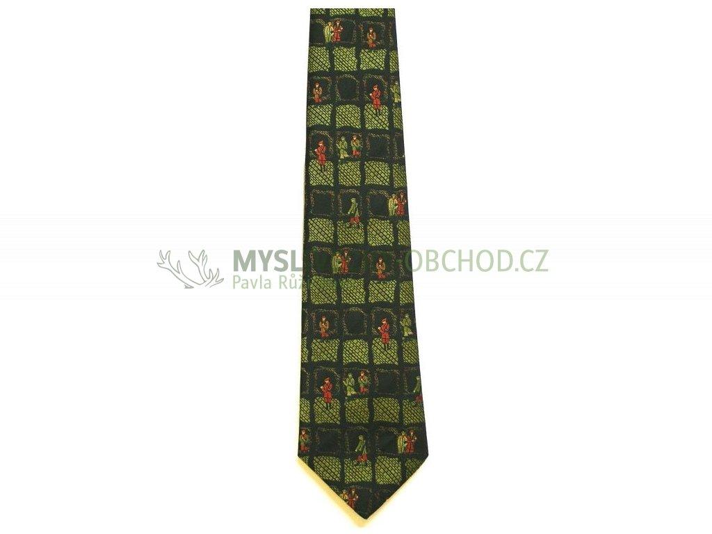 hedva pesh 38 myslivci myslivecka kravata 01