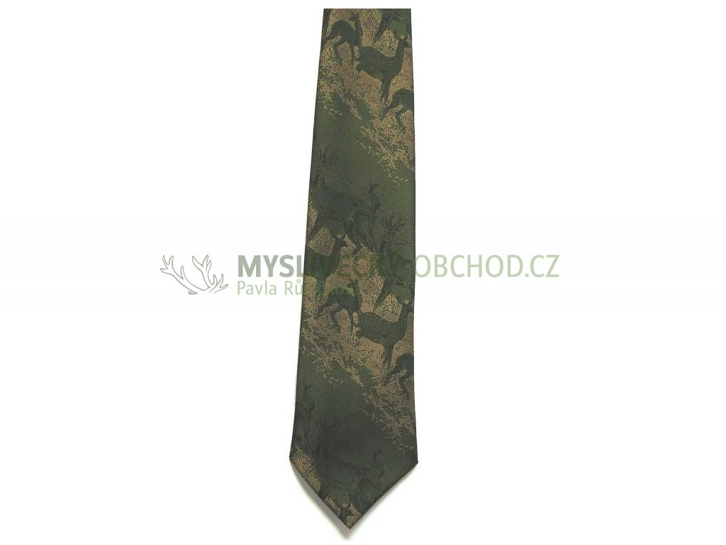 hedva pesh 29 srnec myslivecka kravata 01