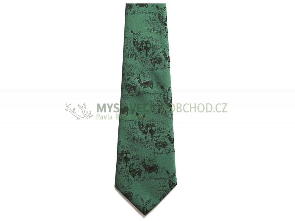 hedva pesh 46 srnec myslivecka kravata 01