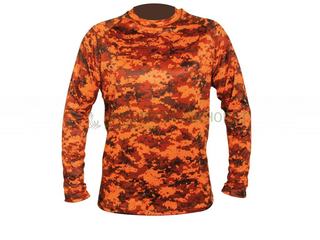 Hart Aktiva-l Pixel Blaze tričko s dlouhým rukávem
