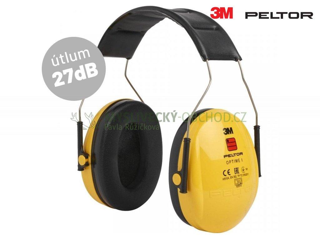 Střelecká sluchátka 3M PELTOR Optime I