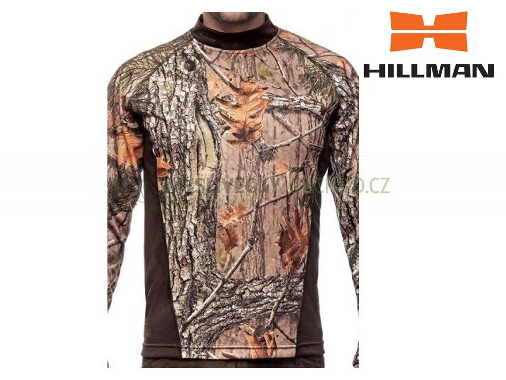 T shirt Long Sleeve tričko s dlouhým rukávem b. Kamufláž 3DX