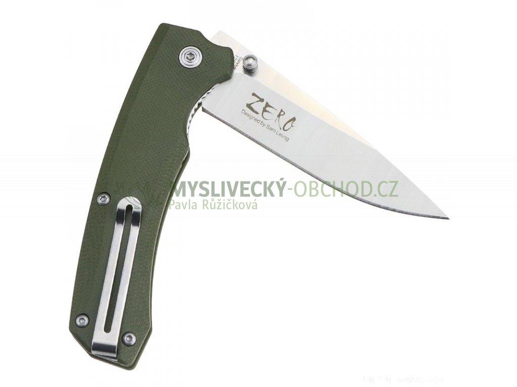 Taktický nůž Tekut Zero (Barva Zelená)