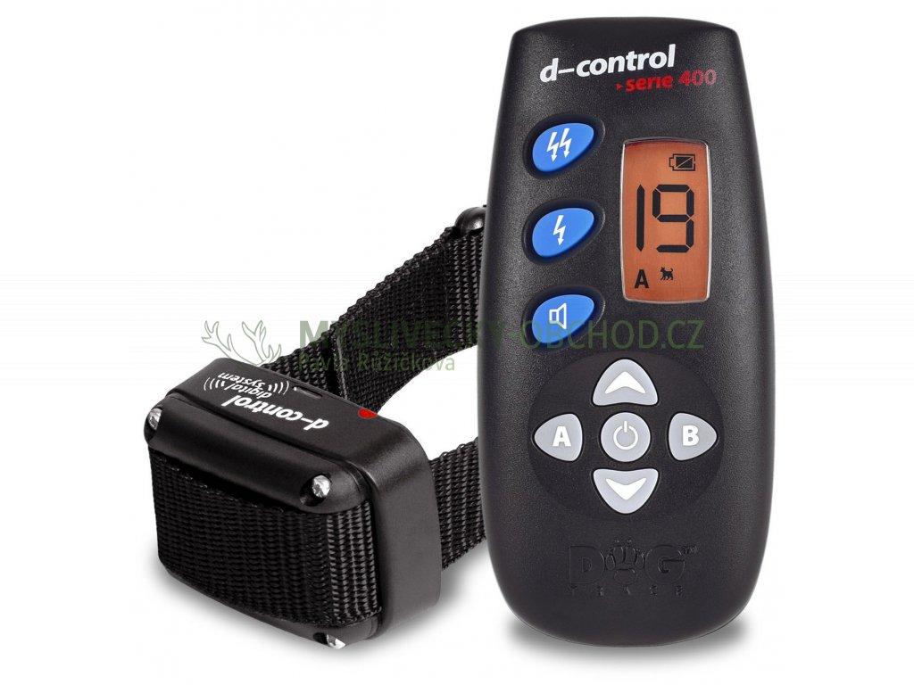 dogtrace d control 400 vycvikovy elektricky obojek pro psa 01