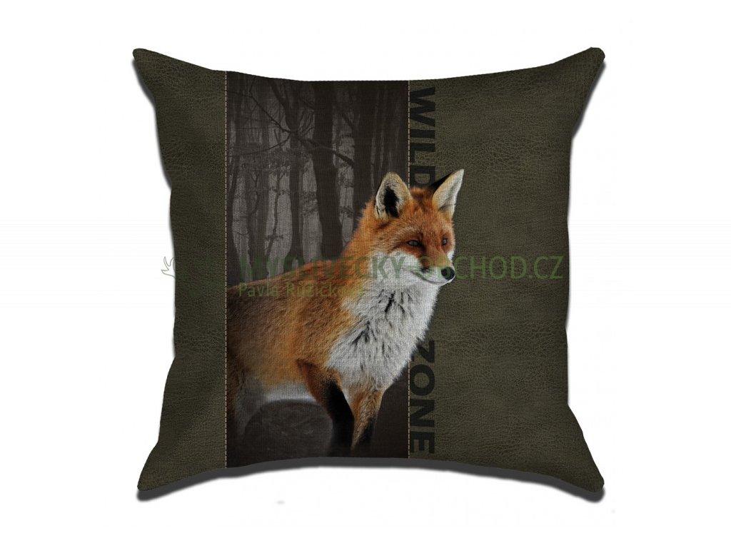 Polštář WILDZONE –  liška