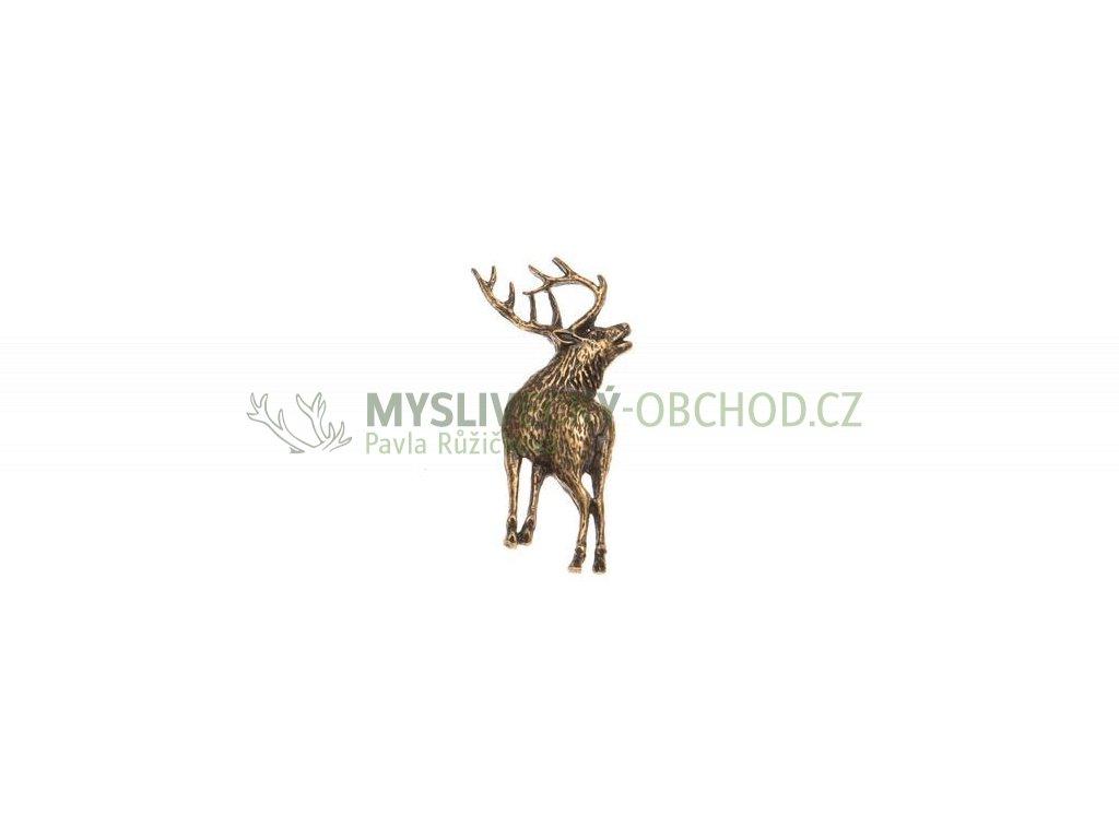 493 postava jelena odznak na klobouk