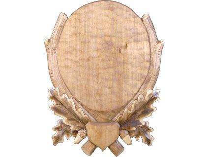 drevo novak podlozka pod trofej rezbovana danek sika c 202