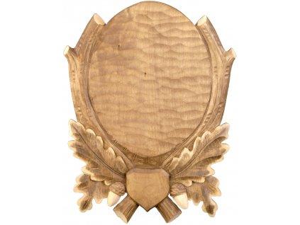 drevo novak podlozka pod trofej rezbovana danek sika c 213