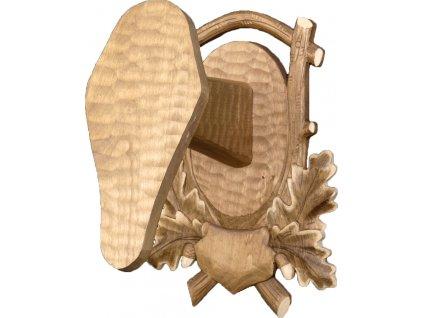 drevo novak podlozka pod trofej rezbovana muflon c 231