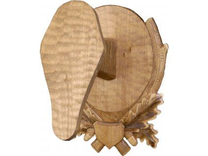 drevo novak podlozka pod trofej rezbovana muflon c 232