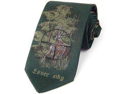 hedva pesh lovec siky kriz myslivecka kravata 01