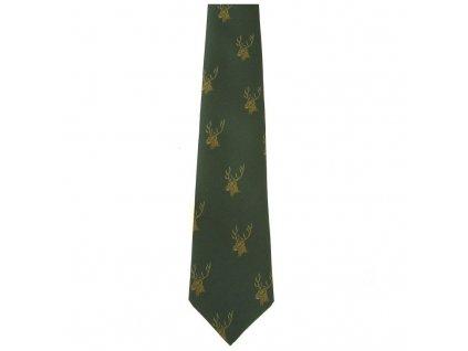 hedva pesh 13 jelen myslivecka kravata 01