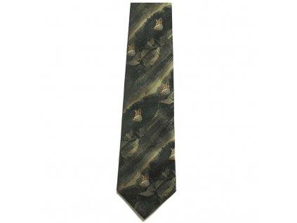 hedva pesh 45 liska myslivecka kravata 01