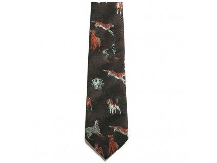 hedva pesh 35 lovecti psi myslivecka kravata 01