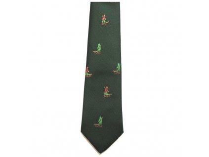 hedva pesh 36 myslivec se psem myslivecka kravata 01