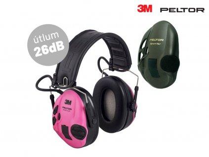 Elektronická střelecká sluchátka 3M PELTOR SportTac RE