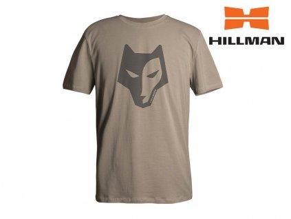Lovecké tričko Hillman Alpha kr. rukáv béžové