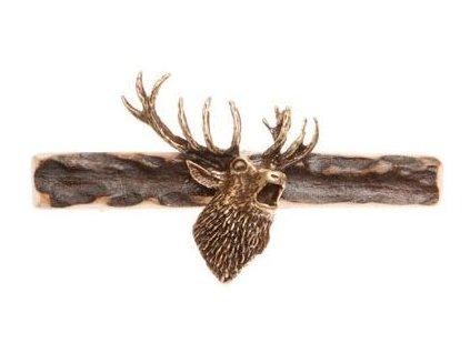 1396 hlava jelena parohova spona