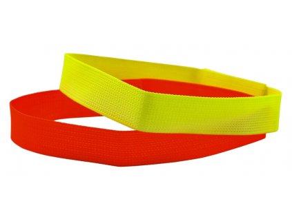 Reflexní obojek (Délka 30 cm, Barva oranžová)